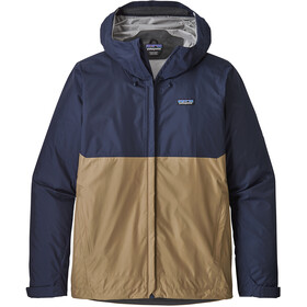 Patagonia Torrentshell Jacket Herren classic navy w/mojave khaki
